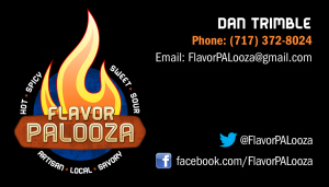 FlavorPAlooza's Business Card designed by KollisionMedia