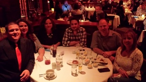 The #06010 Crew spending quality time with us on our anniversary dinner.